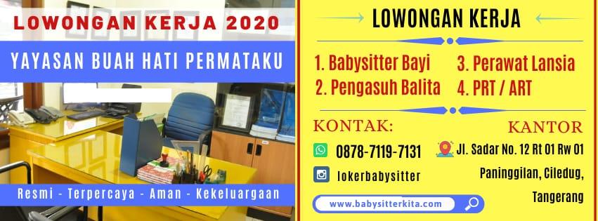 lowongan kerja babysitter 2020