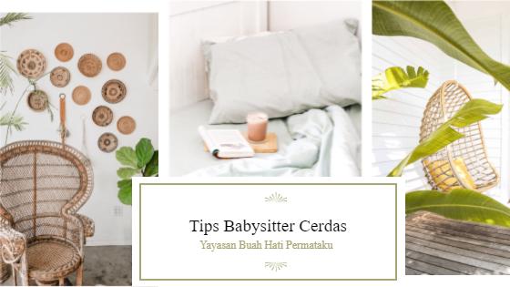 Tips Babysitter